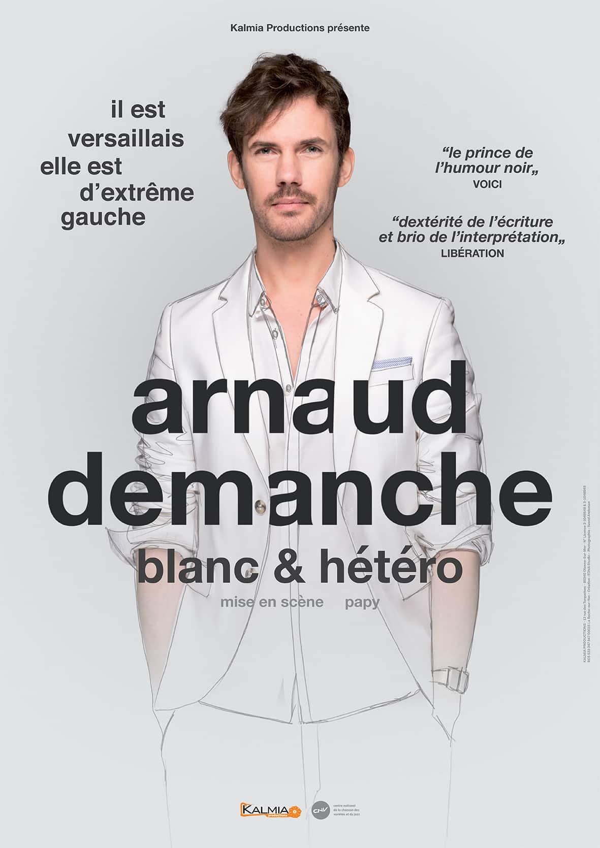 Arnaud Demanche - L'Art Dû - Mrire Festival - Marseille - Humour - Stand Up