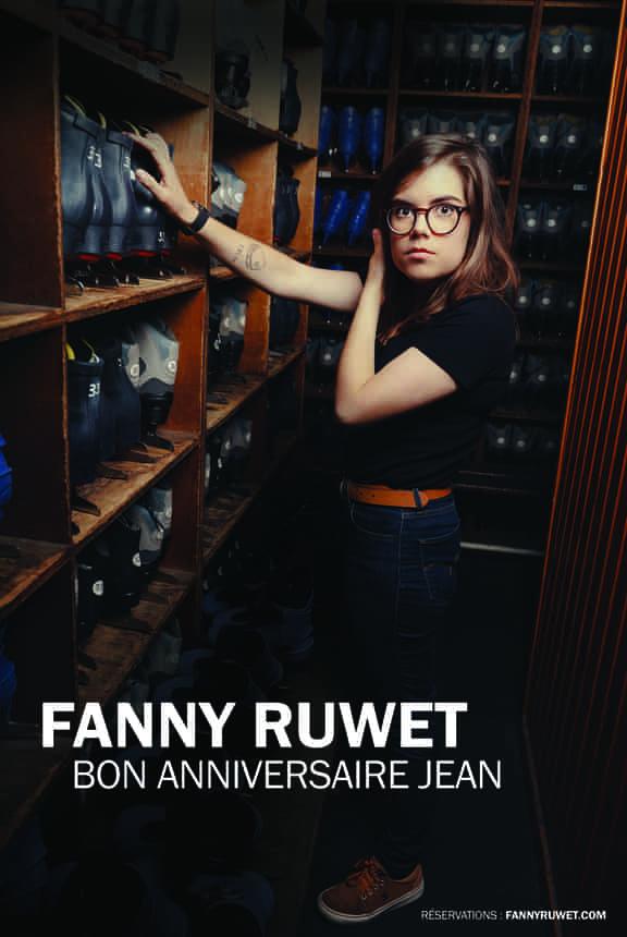Fanny Ruwet - L'Art Dû - Mrire Festival - Marseille - Humour - Stand Up