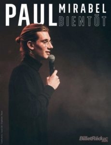 Paul Mirabel - Stand Up - Humour - Olympia Prod - L'Art Dû - Marseille - 13006 - On man