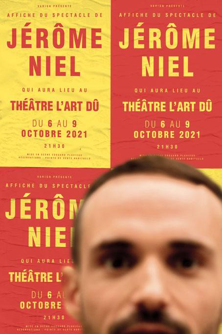 Jérôme-Niel---Humour---Stand-up---One-man-show---théâtre---L'Art-Dû---Marseille-13006