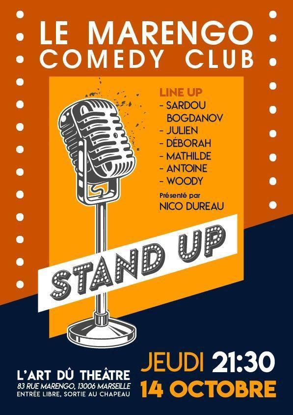 Comedy Club---L'Art-Dû---Marseille---Théâtre---13006